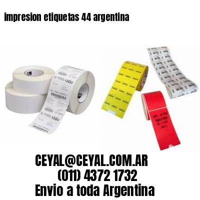 impresion etiquetas 44 argentina
