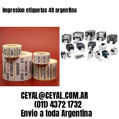 impresion etiquetas 48 argentina
