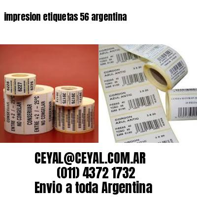 impresion etiquetas 56 argentina