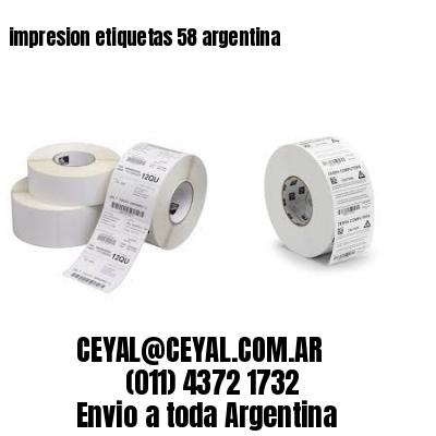 impresion etiquetas 58 argentina
