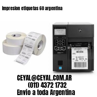 impresion etiquetas 60 argentina