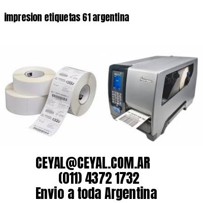 impresion etiquetas 61 argentina