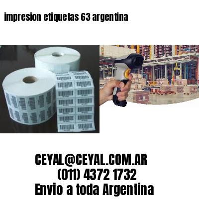 impresion etiquetas 63 argentina