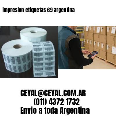 impresion etiquetas 69 argentina