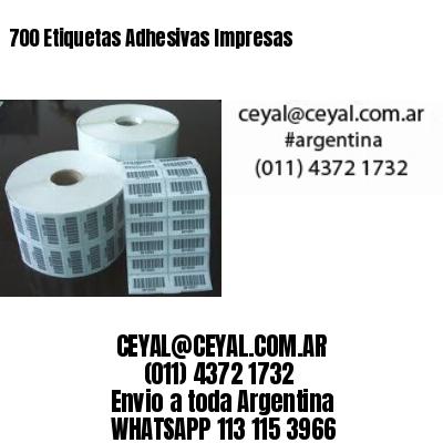 700 Etiquetas Adhesivas Impresas