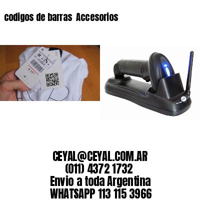codigos de barras  Accesorios