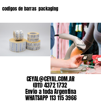 codigos de barras  packaging