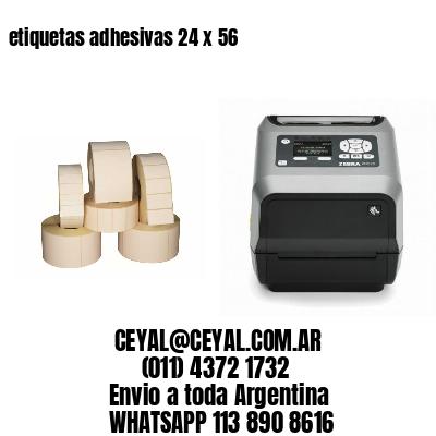 etiquetas adhesivas 24 x 56