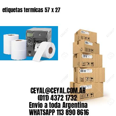 etiquetas termicas 57 x 27