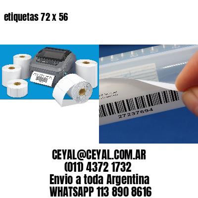 etiquetas 72 x 56