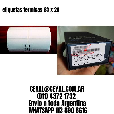 etiquetas termicas 63 x 26