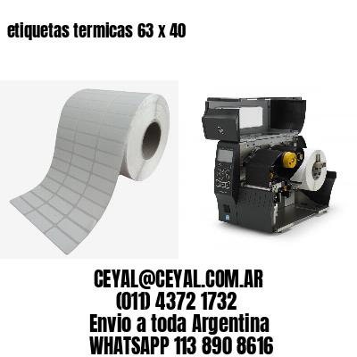 etiquetas termicas 63 x 40