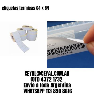 etiquetas termicas 64 x 84