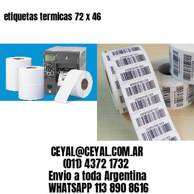 etiquetas termicas 72 x 46