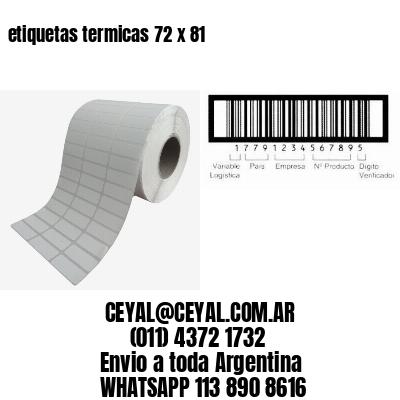 etiquetas termicas 72 x 81