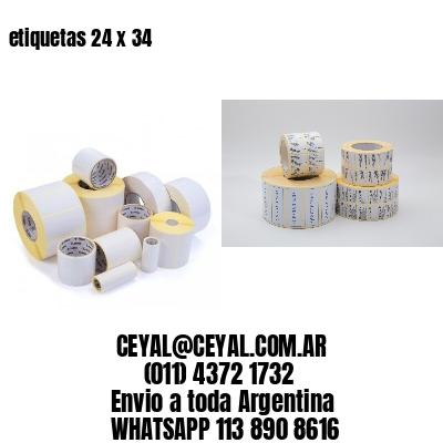 etiquetas 24 x 34