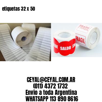 etiquetas 32 x 50
