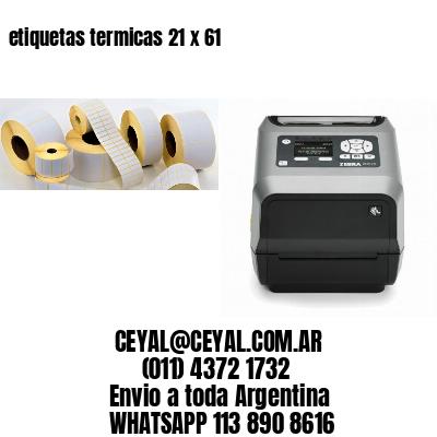 etiquetas termicas 21 x 61