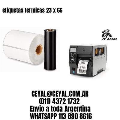 etiquetas termicas 23 x 66