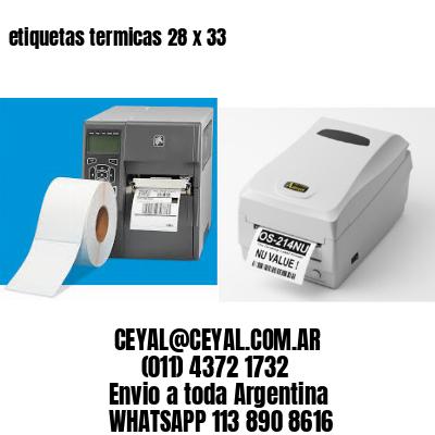 etiquetas termicas 28 x 33