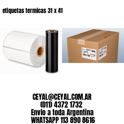 etiquetas termicas 31 x 41