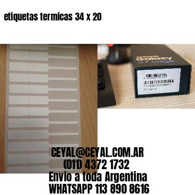 etiquetas termicas 34 x 20