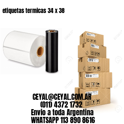 etiquetas termicas 34 x 38