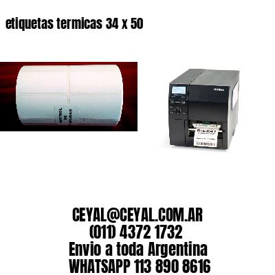 etiquetas termicas 34 x 50