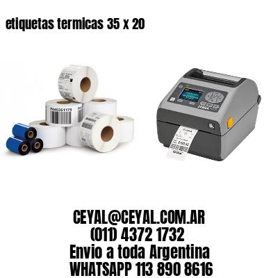 etiquetas termicas 35 x 20