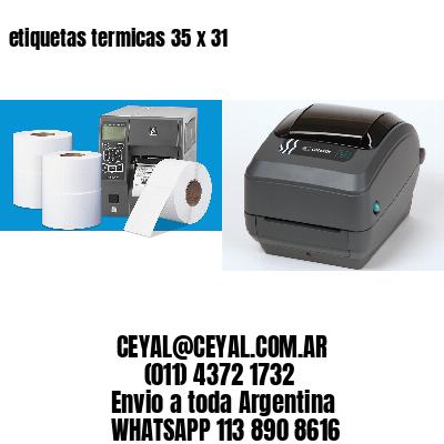 etiquetas termicas 35 x 31