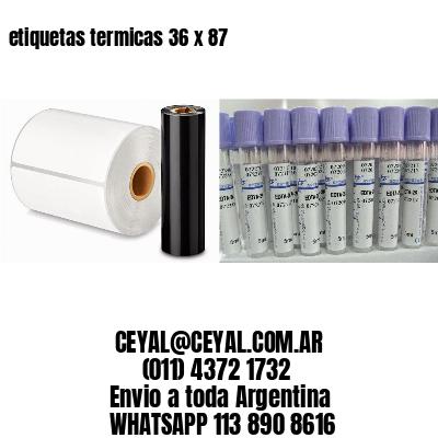 etiquetas termicas 36 x 87