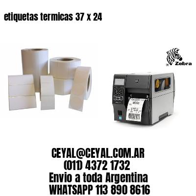 etiquetas termicas 37 x 24