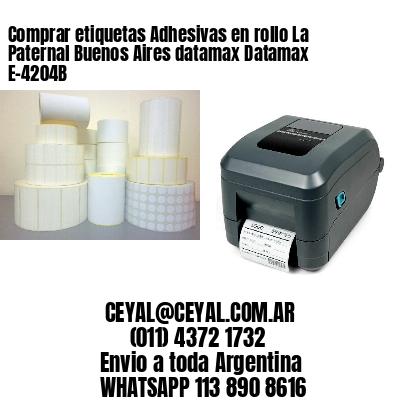 Comprar etiquetas Adhesivas en rollo La Paternal Buenos Aires datamax Datamax E-4204B
