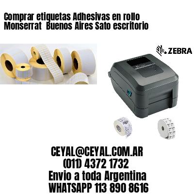 Comprar etiquetas Adhesivas en rollo Monserrat  Buenos Aires Sato escritorio