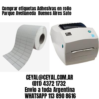 Comprar etiquetas Adhesivas en rollo Parque Avellaneda  Buenos Aires Sato