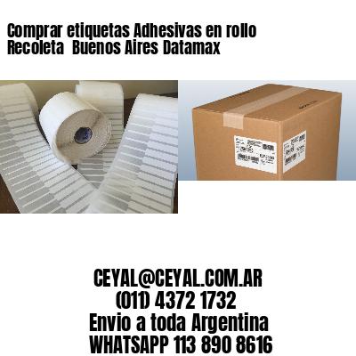 Comprar etiquetas Adhesivas en rollo Recoleta  Buenos Aires Datamax