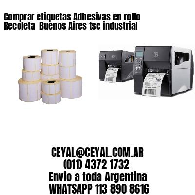 Comprar etiquetas Adhesivas en rollo Recoleta  Buenos Aires tsc industrial