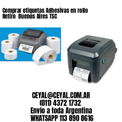 Comprar etiquetas Adhesivas en rollo Retiro  Buenos Aires TSC
