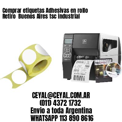 Comprar etiquetas Adhesivas en rollo Retiro  Buenos Aires tsc industrial