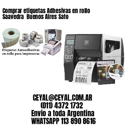 Comprar etiquetas Adhesivas en rollo Saavedra  Buenos Aires Sato