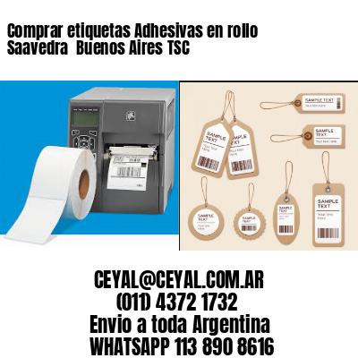 Comprar etiquetas Adhesivas en rollo Saavedra  Buenos Aires TSC