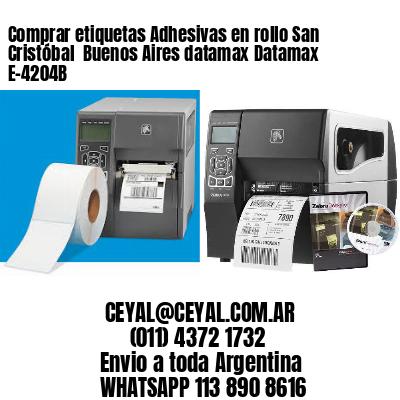 Comprar etiquetas Adhesivas en rollo San Cristóbal  Buenos Aires datamax Datamax E-4204B