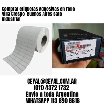 Comprar etiquetas Adhesivas en rollo Villa Crespo  Buenos Aires sato industrial