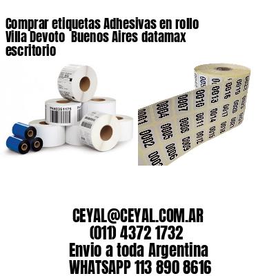 Comprar etiquetas Adhesivas en rollo Villa Devoto  Buenos Aires datamax escritorio