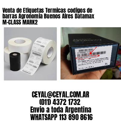 Venta de Etiquetas Termicas codigos de barras Agronomia Buenos Aires Datamax M-CLASS MARK2