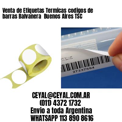 Venta de Etiquetas Termicas codigos de barras Balvanera  Buenos Aires TSC