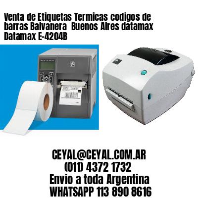 Venta de Etiquetas Termicas codigos de barras Balvanera  Buenos Aires datamax Datamax E-4204B