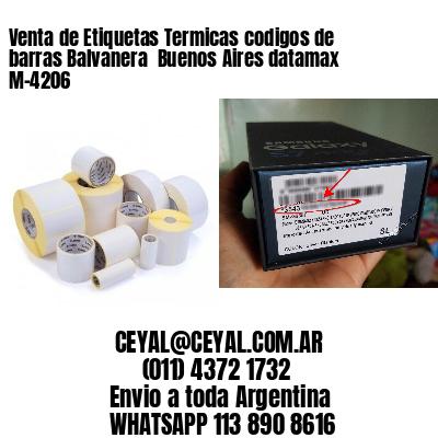 Venta de Etiquetas Termicas codigos de barras Balvanera  Buenos Aires datamax  M-4206