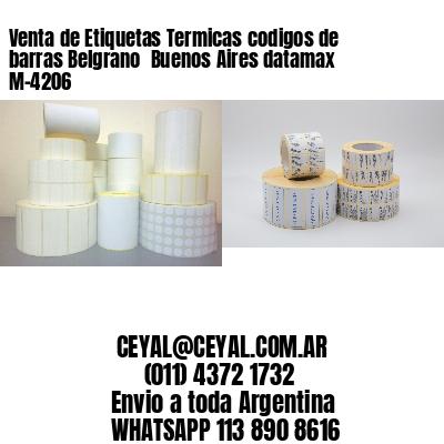 Venta de Etiquetas Termicas codigos de barras Belgrano  Buenos Aires datamax  M-4206