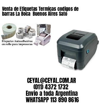 Venta de Etiquetas Termicas codigos de barras La Boca  Buenos Aires Sato